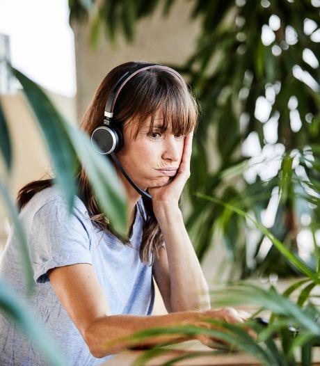 Hoe je met een post-it je online meeting minder vermoeiend maakt