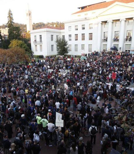 Politie schiet man neer tijdens Occupy-betoging Californië