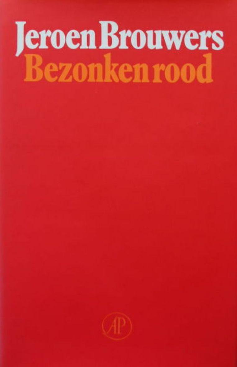 Ontwerp Joost van de Woestijne, 1981. Beeld De Arbeiderspers