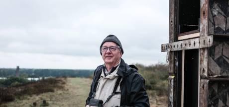 Robert Kwak is er dol op: vogels tellen vanaf vuilnisbelt in Winterswijk