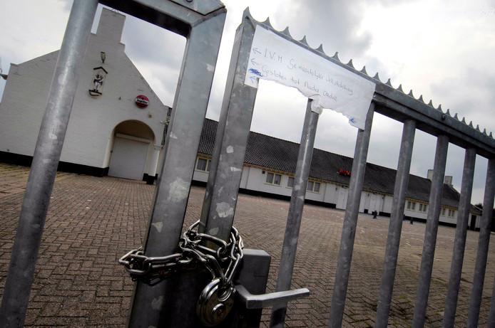 Zaal Parkzicht in Sint Willebrord werd vanwege geluidsoverslast gesloten op last van de gemeente.