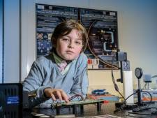 """Laurent, le prodige belge de 9 ans, quitte l'université: """"Ils l'accusaient de plagiat"""""""