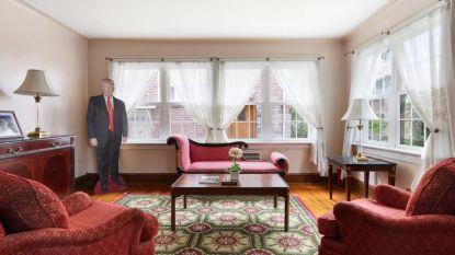 VIDEO. Ouderlijk huis van Donald Trump staat te koop voor 2,5 miljoen euro