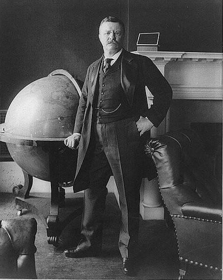 """Considéré comme le président préféré des Américains, Théodore """"Teddy"""" Roosevelt aurait la personnalité la plus marquée par l'absence de peur."""