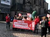 "Woonprotest in binnenstad Zwolle: ""Dit is onze stad"""