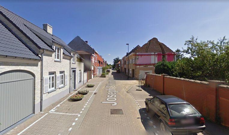 De koffietafel werd in een woning in de Joseph D'Hondtstraat in Nossegem stilgelegd. Beeld Google Maps
