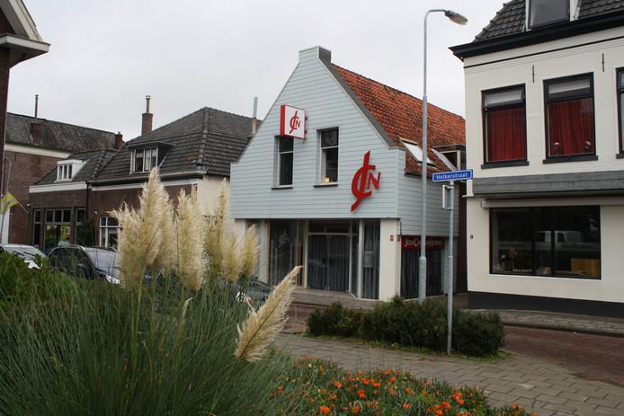 Het Jezus Centrum aan de Holkerstraat in Nijkerk.