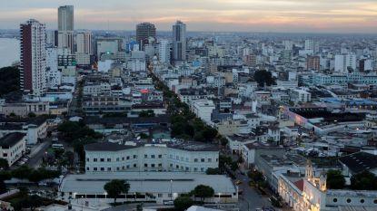 Meerdere steden in Ecuador onder de as na vulkaanuitbarsting