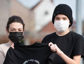 """Dree'ken (12) vecht tegen kanker, maar ontwerpt en verkoopt nu kledij voor Kinderkankerfonds: """"Een muts zal ik zelf ook kunnen gebruiken"""""""