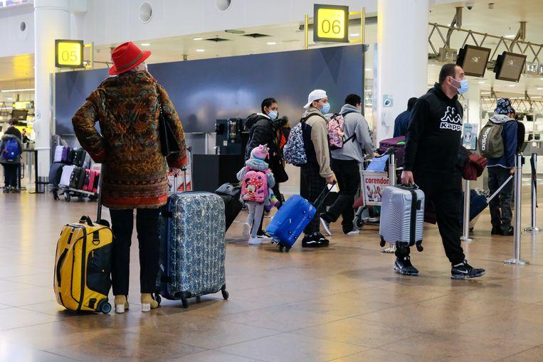 De luchthaven van Zaventem. Beeld Marc Baert