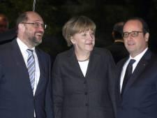 Hollande et Merkel aperçus dans un restaurant de Strasbourg
