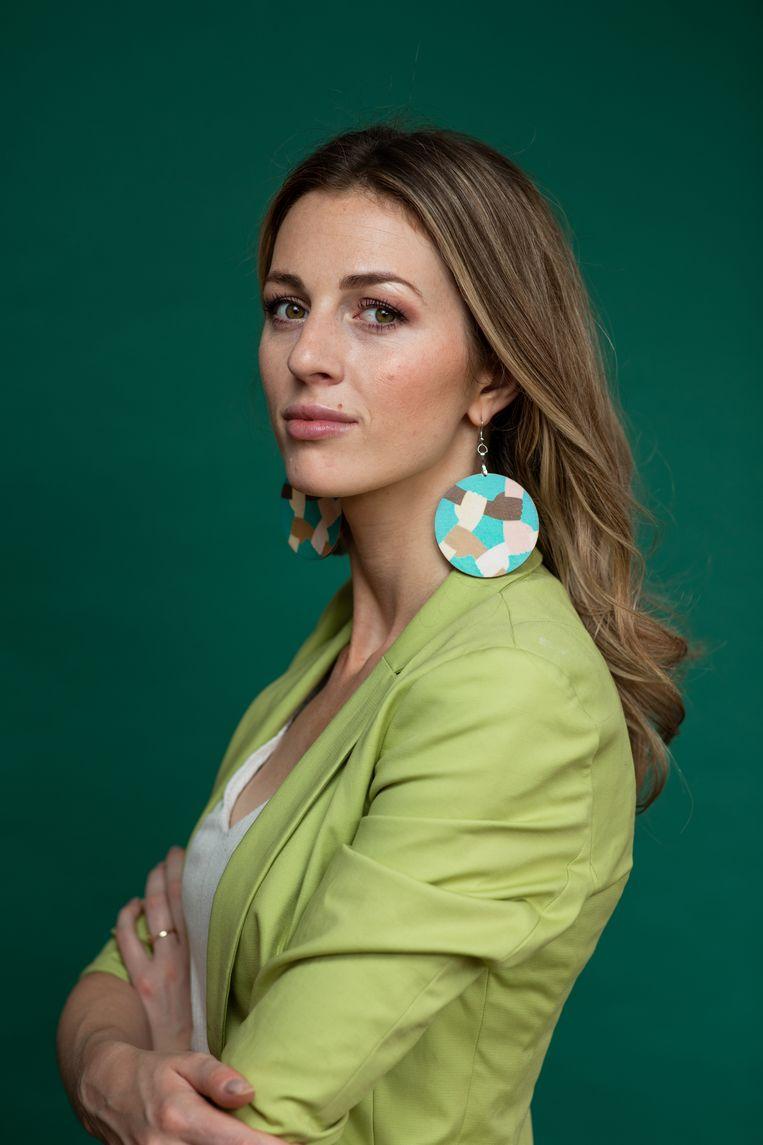 Dominika Zawada: 'Ze denken dat we de banen af komen pakken.' Beeld Nosh Neneh