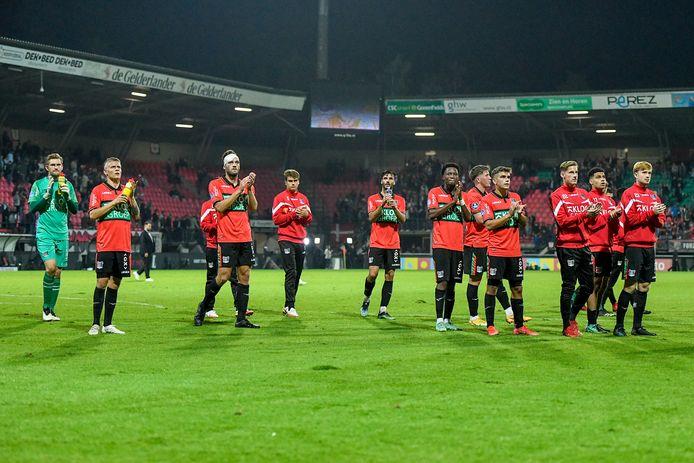 NEC gaat op bezoek bij Capelle in de eerste ronde van de KNVB-beker.