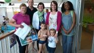 Rita en Andrès winnen prijzen dankzij jarig zwembad
