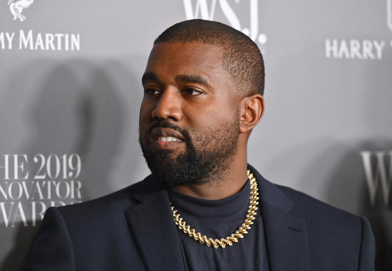 Kanye West Beeld AFP