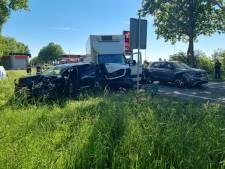 Eén gewonde bij kettingbotsing op N18 bij Lichtenvoorde; weg in beide richtingen dicht