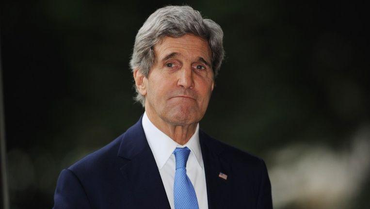 John Kerry. Beeld BELGA