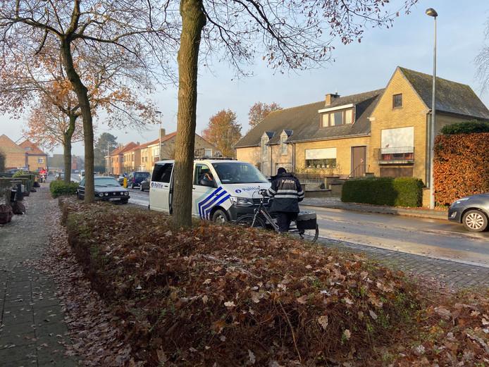Het ongeval gebeurde op de hoek van de Vossensteert en Zuidakker