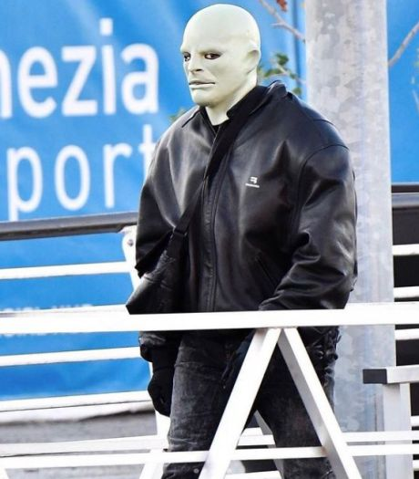 Kanye West repéré avec d'étranges masques