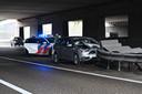 Ongeval op A16 Breda.