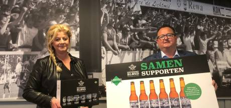 Genemuiden drinkt voetbalbiertje Wetering Blond: 'Het doet goed dit voor de club te doen'
