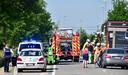 Door de kop-staartaanrijding was de Ringlaan in Lichtervelde enkele uren plaatselijk afgesloten voor alle verkeer.