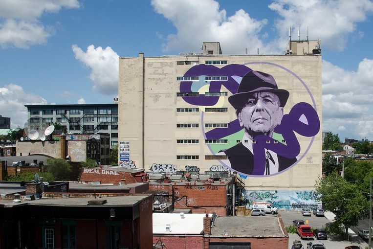 Leonard Cohen Beeld Kevin Ledo