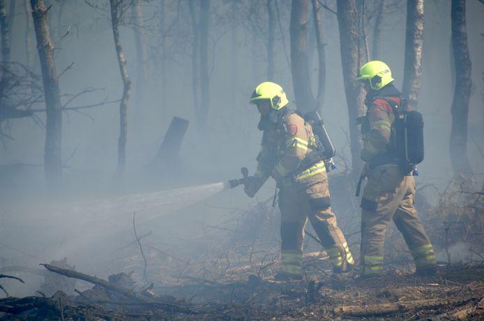 Een natuurbrand ter illustratie.
