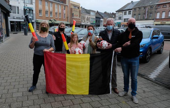 De gemeente Willebroek en handelaarsvereniging Willebroek Winkelhart geven het startschot van de EK-pronostiek
