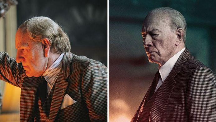 Kevin Spacey (links) werd in 'All The Money In The World' vervangen door Christopher Plummer (rechts)