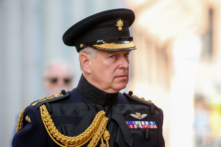 De Britse prins Andrew was 'een misbruiker, een deelnemer' aan de seksuele uitbuiting in de kring van Epstein, volgens de Amerikaanse Virginia Giuffre. Beeld EPA