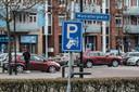 Betaald parkeren in het centrum van Zevenaar.