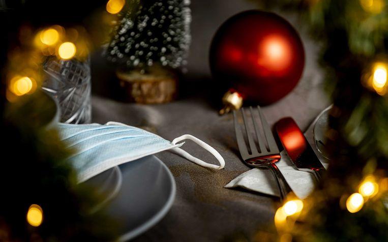 Alleen levensmiddelenwinkels blijven open deze Kerst.  Beeld ANP