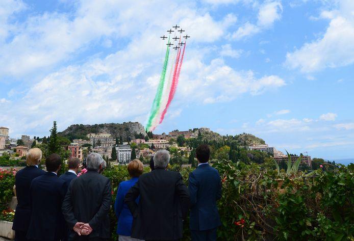 Frecce Tricolori .