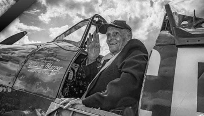 """Joseph """"Jeff"""" Moureau, est décédé à l'âge de 99 ans."""