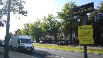 Amnesty doopt Franklin Rooseveltlaan om tot Jamal Khashoggilaan