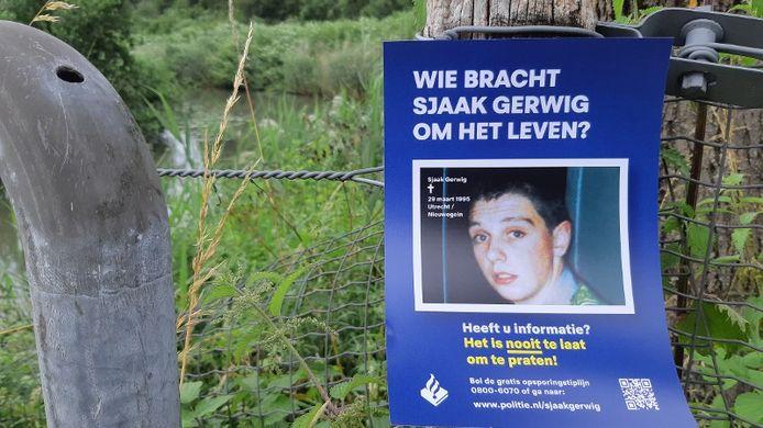 Een onderzoeksteam van de politie startte deze zomer een nieuw onderzoek naar de dood van Sjaak Gerwig.