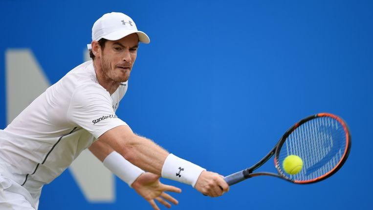 Andy Murray. Beeld photo_news
