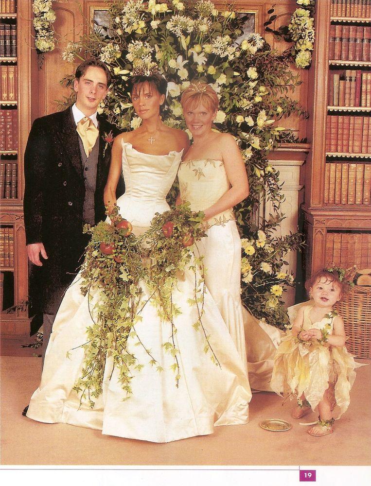 Huwelijk victoria Beckham.