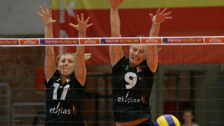 Ilka Van De Vyver en Freya Aelbrecht Beeld VDB