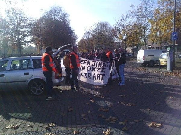 In Oss werd al eerder gedemonstreerd tegen de opvang van vluchtelingen.