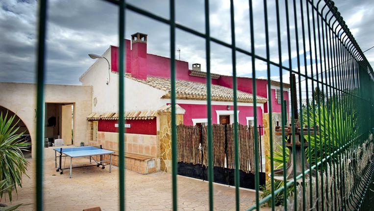 De woning in La Hurona waar de oud-volleybalster Ingrid Visser en haar partner Lodewijk Severein om het leven zijn gebracht Beeld ANP