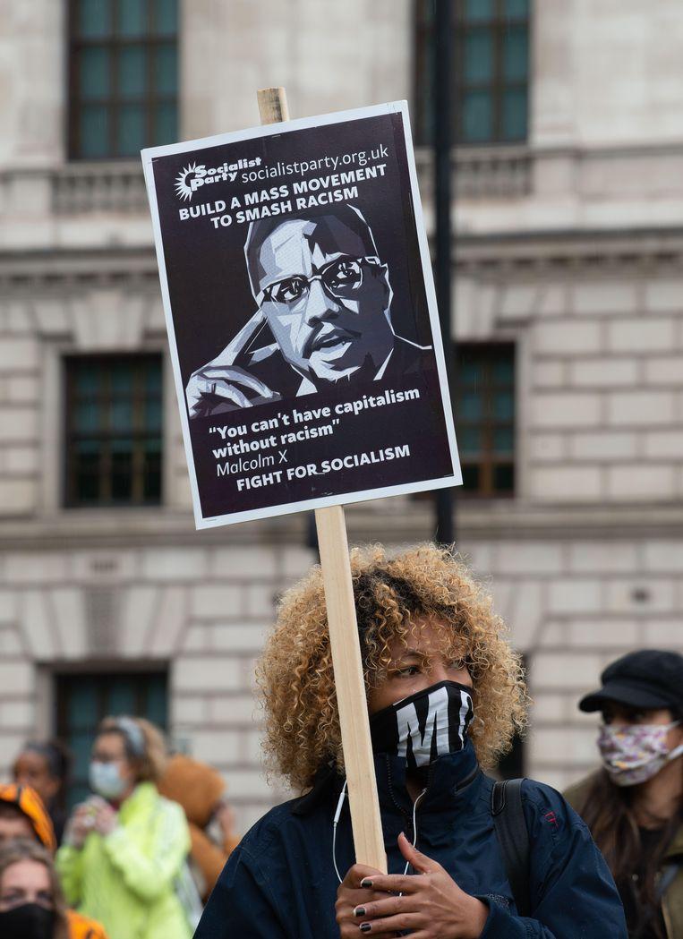 Malcom X als inspiratiebron voor de activisten van Black Lives Matter. Beeld Imageselect/Alamy