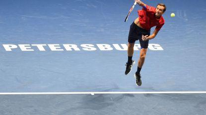 Medvedev en Tsonga winnen in eigen land, Fransman recordhouder in Metz