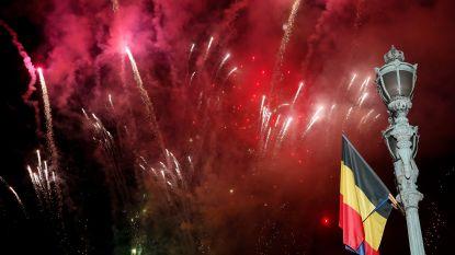 Spectaculair vuurwerk voor nationale feestdag