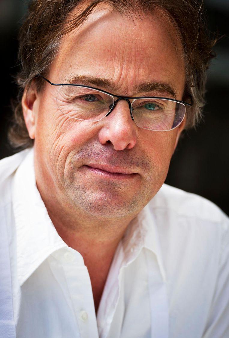 Hans Laroes, oud-hoofdredacteur van het NOS Journaal Beeld anp