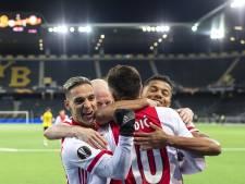 Ajax opnieuw simpel langs Young Boys en bereikt kwartfinales Europa League