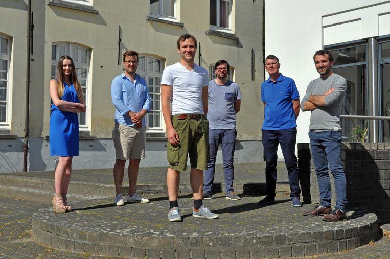 Wouter Vanden Bergh en zijn team van Open Vld.