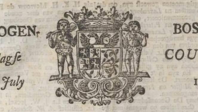 Plunderingen in de stad, belegering door de Fransen; na 1771 lazen Bosschenaren het in hun eigen krant