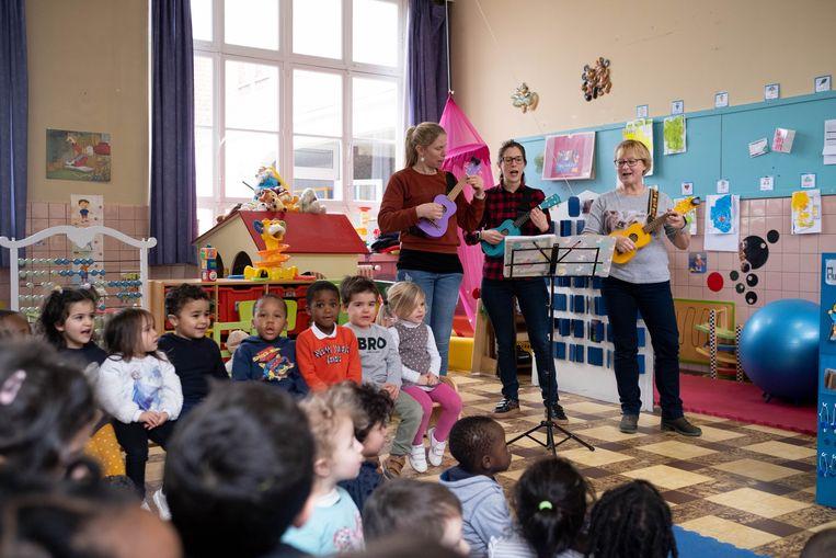 Basisschool Sancta Maria neemt afscheid van haar directrice Magda Diddens